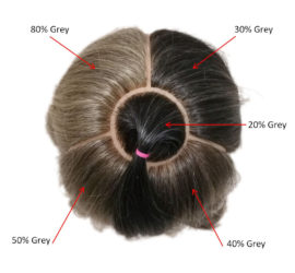 Percentages of Grey